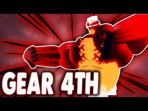 FIRST GEAR 4TH ON ROBLOX | GEAR 2ND & 4TH IN RO-PIECE | Roblox One Piece Gear 4th | iBeMaine