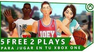 5 juegos GRATIS que DEBES jugar en Xbox One