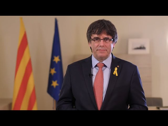 Puigdemont renuncia provisionalmente a la presidencia