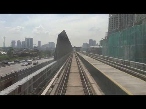 MRT Malaysia: Sungai Buloh To Kajang (Dec 16, 2017)