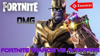 Fortnite Thanos Avengers End game