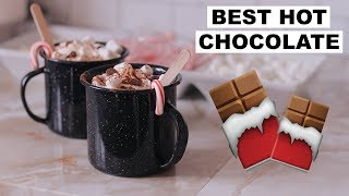 MEXICAN HOT CHOCOLATE RECIPE | Marie Jay