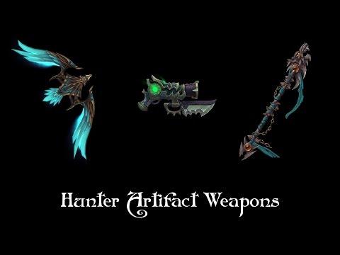 Hunter Artifact Weapons