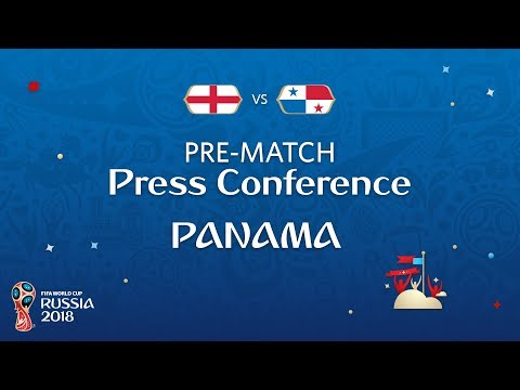 FIFA World Cup™ 2018: ENG vs PAN : Panama Pre-Match Press Conference