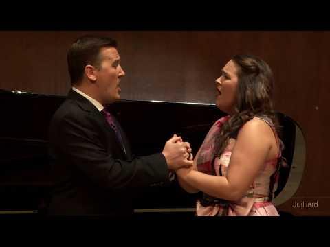 Act 2 Duet - Bizet's 'Les pêcheurs de perles' | Juilliard Emmanuel Villaume Vocal Arts Master Class