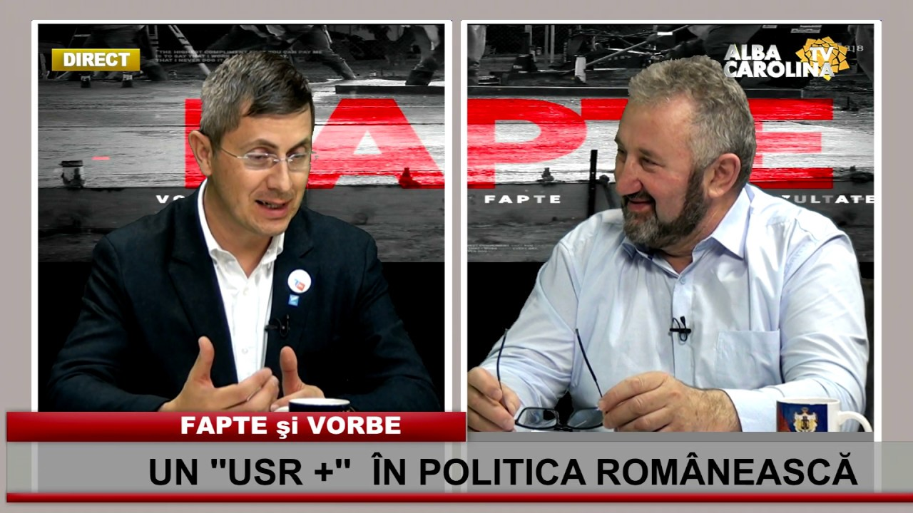 Un ''USR +'' în politica românească, cu Dan Barna - preşedinte USR