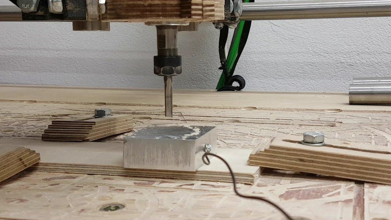 MPCNC Mostly printed cnc DIY Werkzeuglängensensor und erste Schritte in  Estlcam