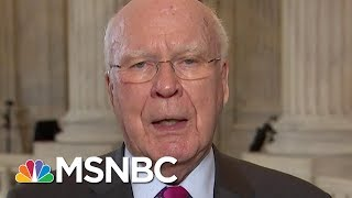 "Leahy: ""We've Never Had A Fully Satisfactory Answer"" From AG Jeff Sessions 