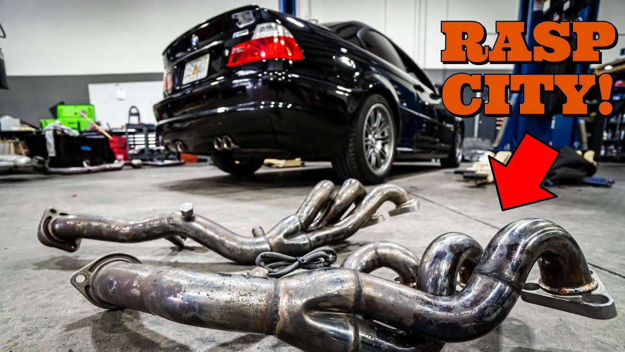I Accidentally Made My BMW E46 M3 Sound Like a Ricer Civic - Catless Headers Install