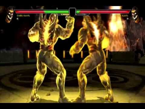 Mortal Kombat vs DC Universe Dark Kahn Gameplay PS3