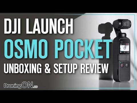 DJI Osmo Pocket Review - Unboxing & Setup