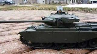 Canadian Centurion tank radio control model