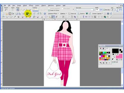 Fashion Design Software Part Ii Youtube