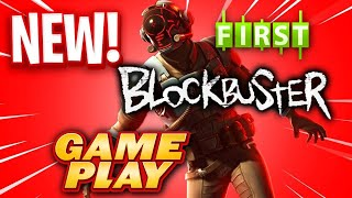 FIRST EVER BLOCKBUSTER SKIN GAMEPLAY! - Fortnite battle Royale - V-Bucks Giveaway!