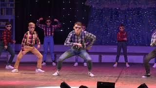 2017.12.24 Новогодняя встреча - Квартет, Pasadena dance school