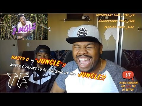 NASTY C - Jungle [Official Audio] (Thatfire Reaction)