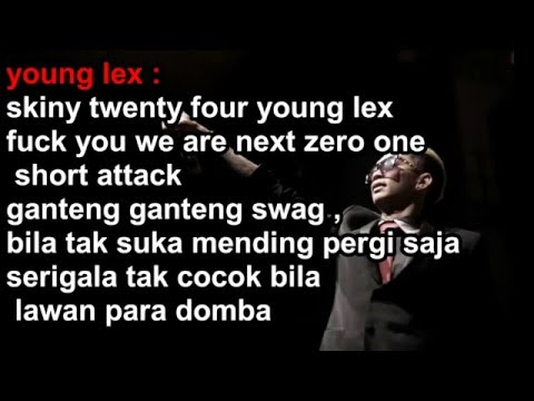 Young Lex Ganteng Ganteng Swag (GGS) LYRIC Ft Reza Oktovian Kemal Palevi Dycal