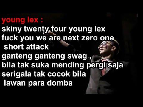 Young Lex Ganteng Ganteng Swag Lirik Video Youtube