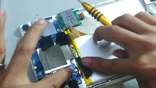 Tháo lắp máy mobell tad 8S - Removing the mobell tab 8S