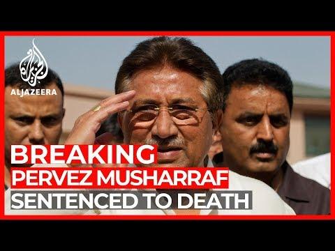 Former Pakistani President Pervez Musharraf sentenced to death