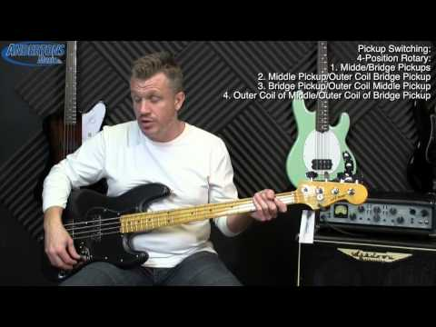 Its Black, Its Satin, Its... Its the Fender Modern Player Jazz Bass in Satin Black!