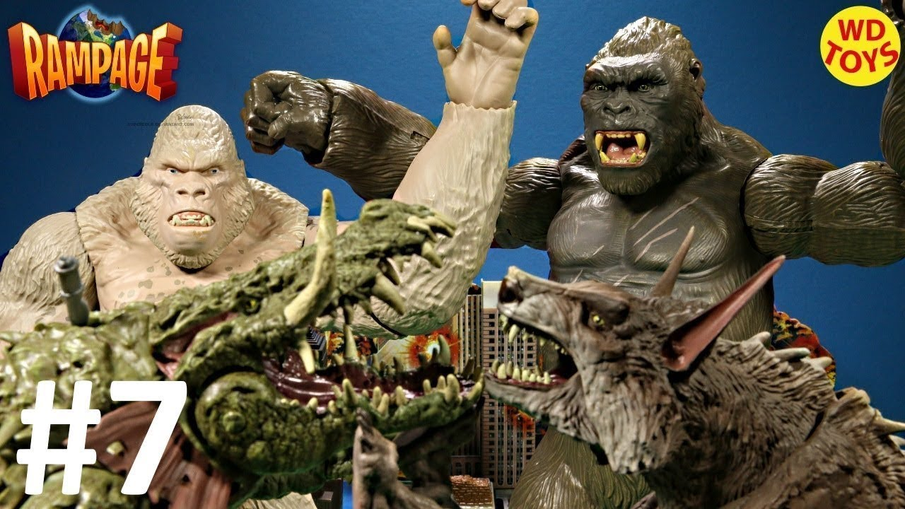 New Rampage The Movie Mega George Figure King Kong Vs Subject