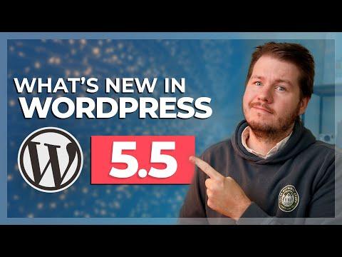 WordPress 5.5: What's New? (Gutenberg Improvements, Plugin Auto-Updates)