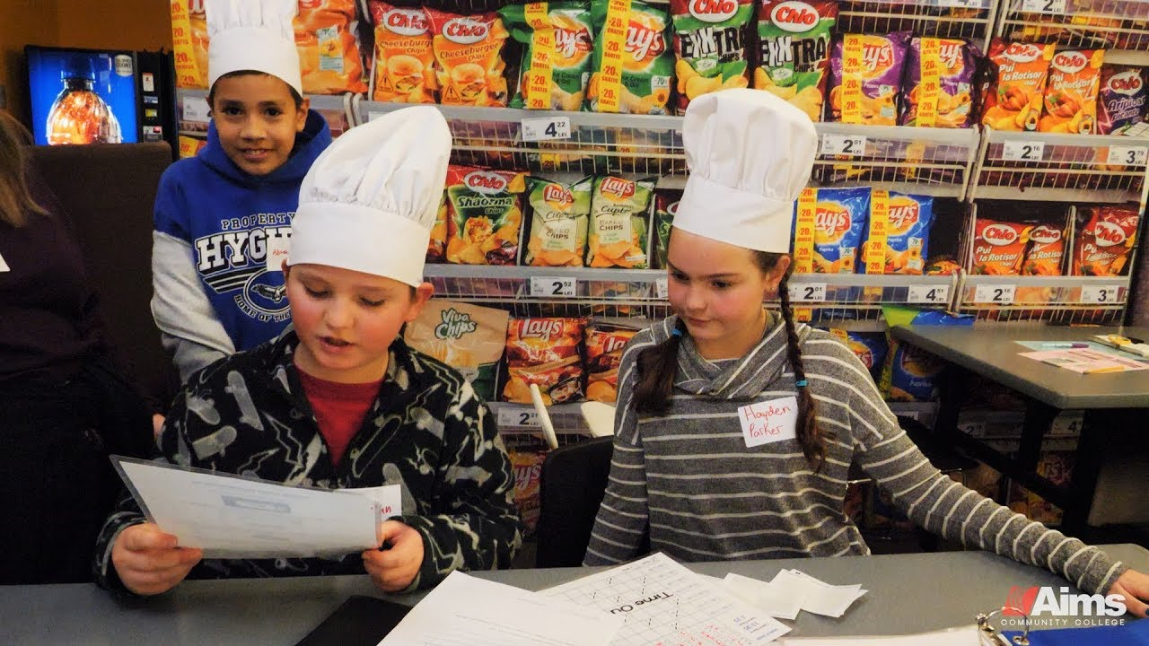 Young Ameritowne Students Learn About Business And Free