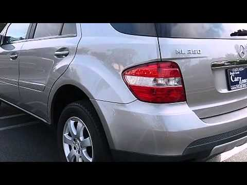 2007 mercedes benz m class ml350 4matic youtube for 2007 mercedes benz m class ml350