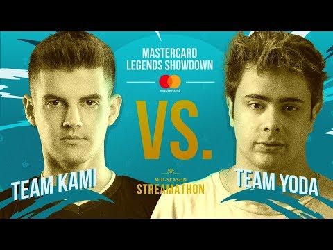 Stream: LoL eSports BR - Mastercard Legends Showdown: Team Kami x Te