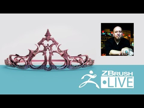 T.S. Wittelsbach - Sculpting, 3D Printing & ZBrush 4R8 - Episode 9
