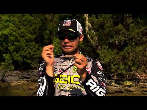 Major League Lesson: Palaniuk Explains How to Fish a Spinbait