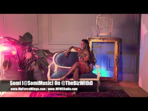 "Somi Talks ""The Lagos Music Salon"" Album & More On @TheBizWithD"
