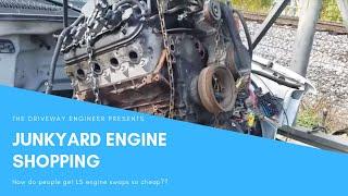 6.0 Junkyard LS motor for C10 Budget swap
