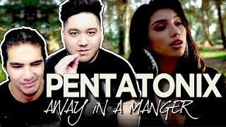 Pentatonix - Away in a Manger REACTION!!!