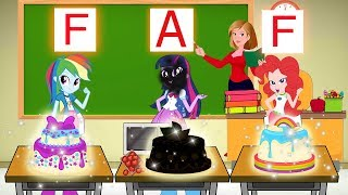 Equestrial Girlss And Best Friends - The Funny Story Of Learn Make Birthday Cake | Zilo Funkiz