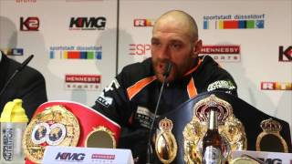 TYSON FURY - 'IF I COULD BE HALF AS GOOD A CHAMPION AS WLADIMIR KLITSCHKO, I WILL BE HAPPY'