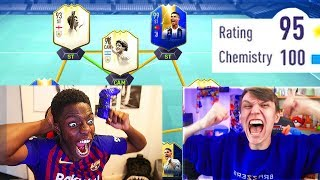 FIFA 20!! 195 RATED FUT DRAFT SHOWDOWN vs XDUTTINHO (FIFA 19)