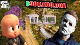 KATİL MİCHAEL MYERS'A 900 MİLYON DOLARA EV SATTIM! - GTA 5 BEBEK EMLAKÇI MODU