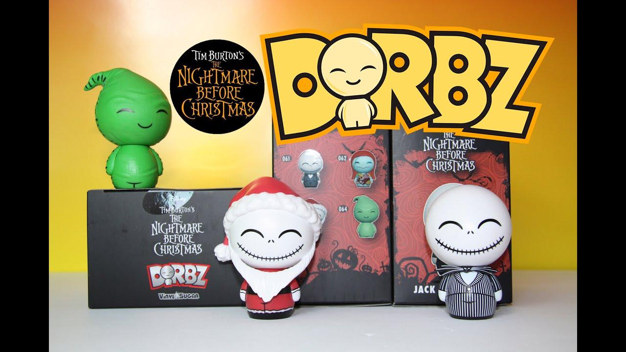 The Nightmare Before Christmas Dorbz & Nightmare Figural Keyrings ...