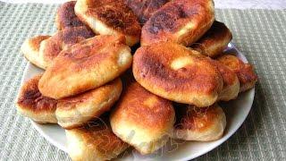 Жареные пирожки с Картофельной Начинкой. Супер Простой Рецепт Теста на Кефире.