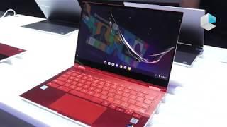 Samsung Galaxy Chromebook ultraslim 2-in-1 e premium con Intel Project Athena