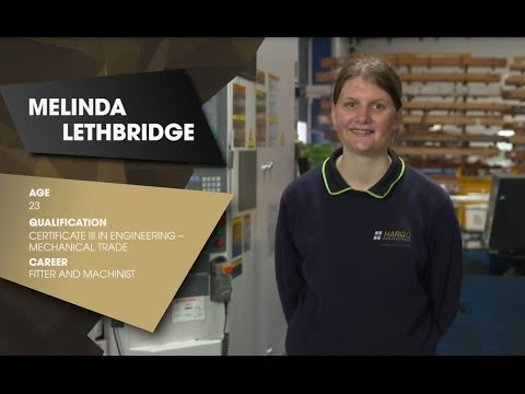 The Fitter and Machinist: Melinda's Story