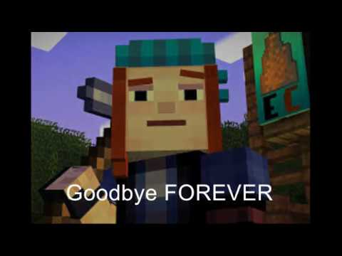 Minecraft Story Mode Petra is DEAD - Goodbye forever