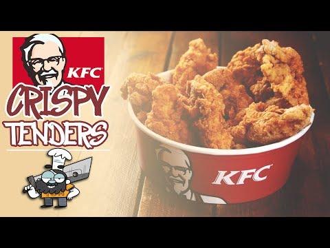 Cómo hacer Crispy Tenders XL de KFC