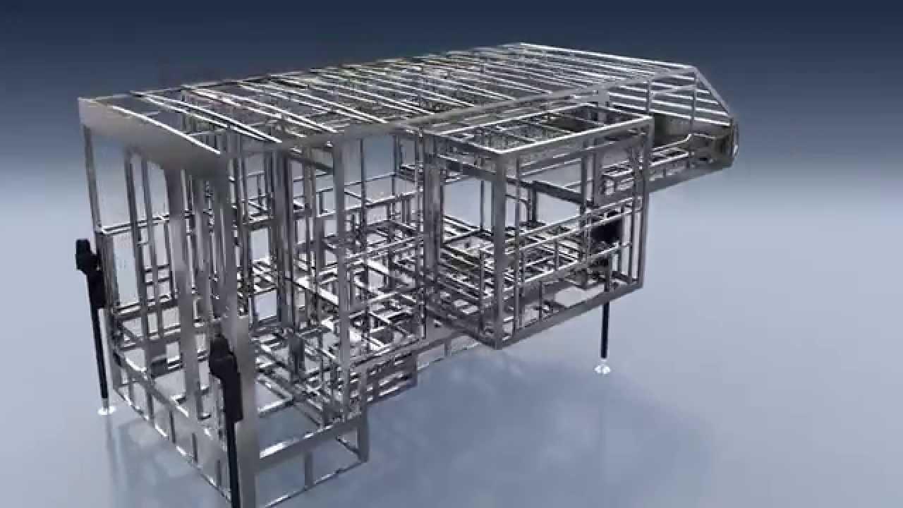 LivinLIte Camplite Truck Camper Aluminum Structure YouTube - 1280x720 ...