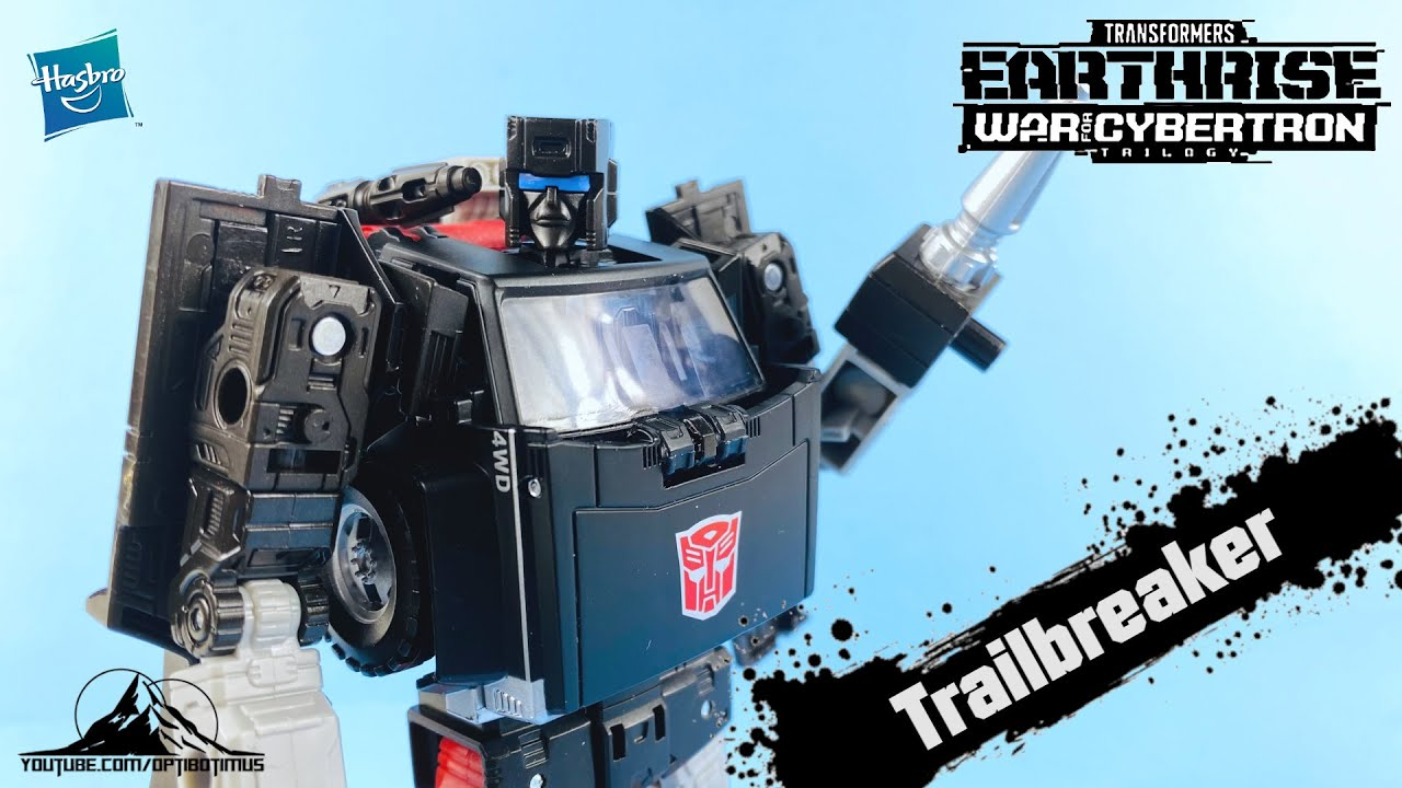Transformers Earthrise TRAILBREAKER Video Review by Optibotimus