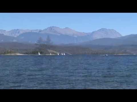 Lake Granby Colorado Summer Scenes in 4k UHD