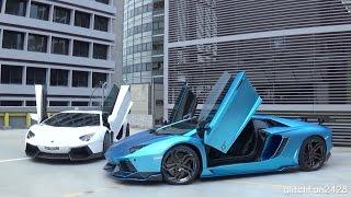 Lamborghini Aventadors Heroes Tonight