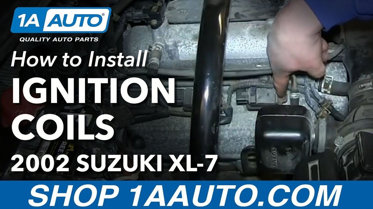 how to replace ignition coil 02 04 suzuki xl 7 [ 1280 x 720 Pixel ]
